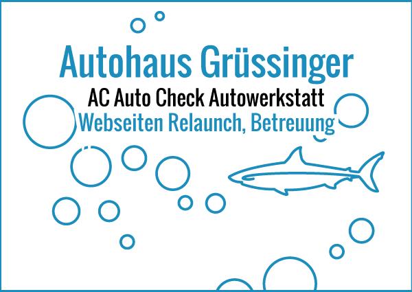 Autohaus Gruessinger - Webseiten Relaunch & Betreuung