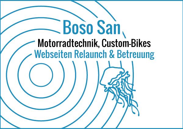 Boso San - Webseiten Relaunch & Betreuung