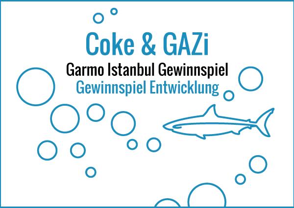 Coke & GAZi - Gewinnspiel Entwicklung
