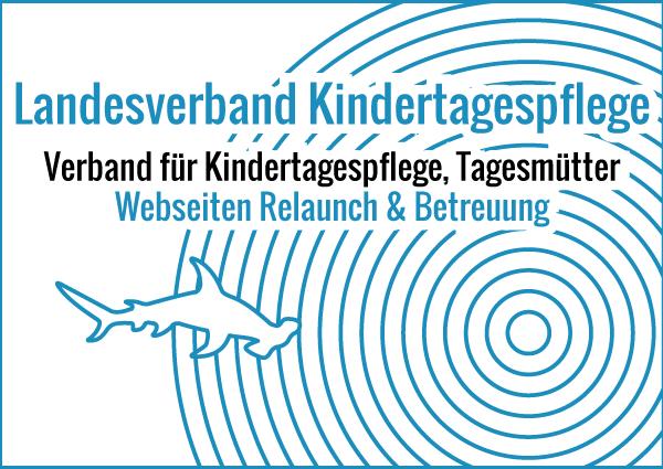 Landesverband Kindertagespflege - Webseiten Relaunch & Betreuung