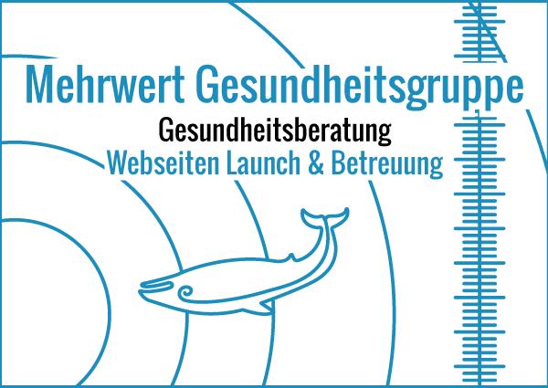 Mehrwert Gesundheitsgruppe - Webseiten Launch & Betreuung