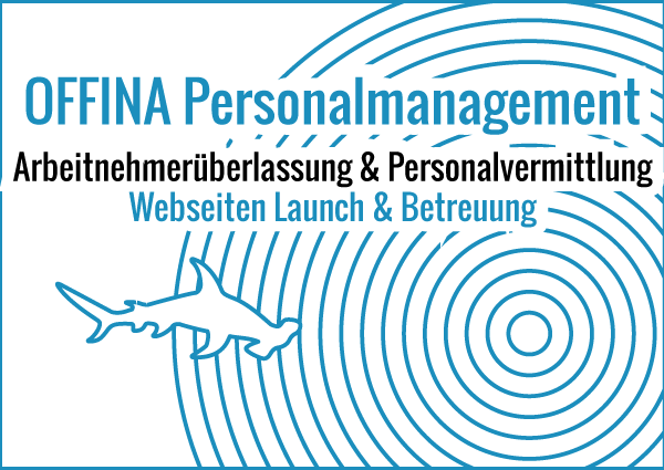 OFFINA Personalmanagement - Webseiten Launch & Betreuung