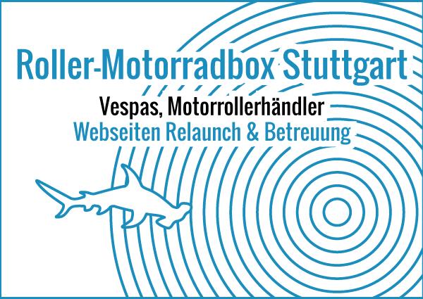 Roller-Motorradbox Stuttgart - Webseiten Relaunch & Betreuung