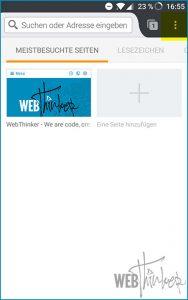 Cache leeren Firefox Android 1