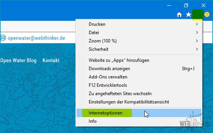 Cache leeren Internet Explorer Computer 1