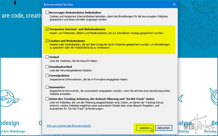 Cache leeren Internet Explorer Computer 3