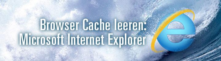 Browser Cache leeren Microsoft Internet Explorer