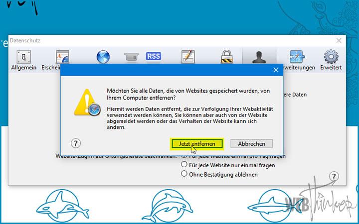 Cache leeren Safari Computer 3