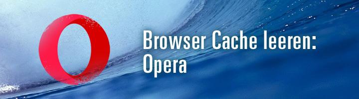 Browser Cache leeren Opera